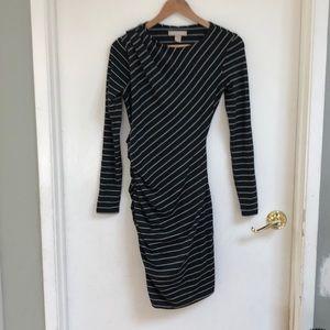 BANANA REPUBLIC Asymmetrical Ruched dress